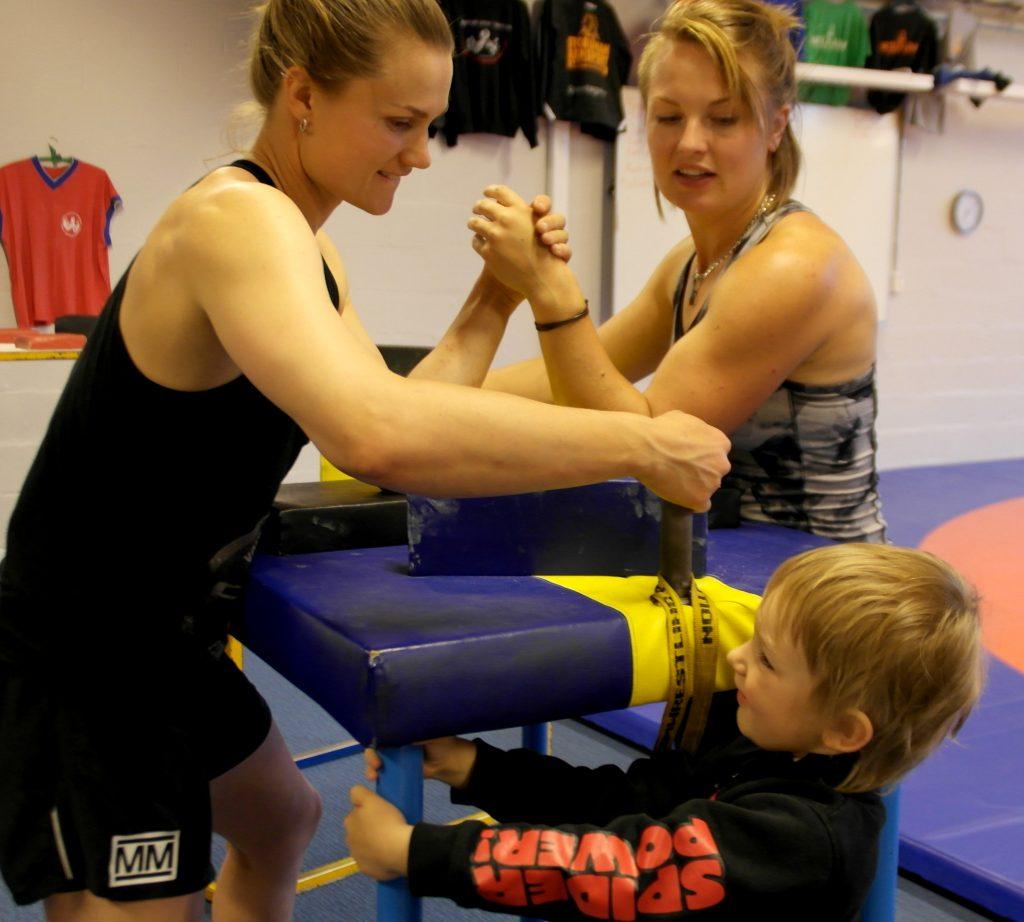 Fia Heidi Dante armbrytning