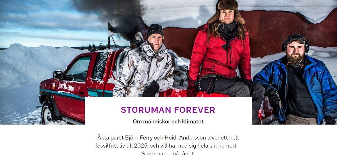 #storumanforever EP1 SVT1 20 mars kl 21:00