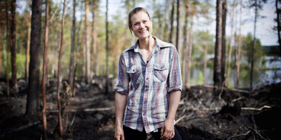 Heidi Andersson, skoglig hedersdoktor